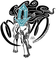 Tribal Suicune by Seoxys6