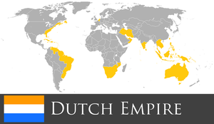 Greater Dutch Empire by PrussianInk