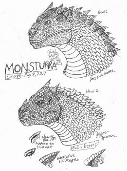 Monsturra Concepts-May 8, 2017 by JacobSpencerKaiju79