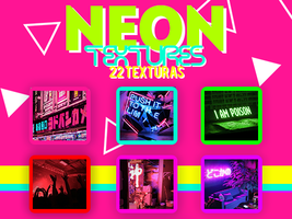 NEON TEXTURES by SabDesings