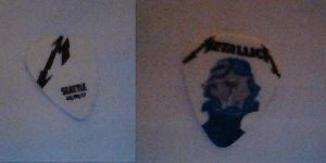 Metallica Guitar Pick From Seattle by ARandomUserl-l