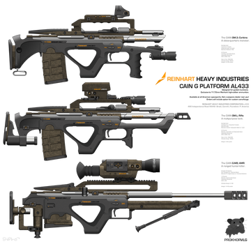Reinhart Heavy Industries / / CAIN G by prokhorvlg