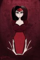 Red Vamp by thezombified