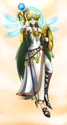 Obligatory Palutena artwork by LoverBoySora