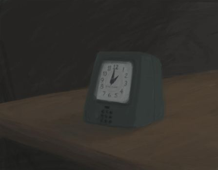 One hour speed painting by Lexis-Saia