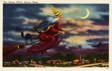 Vintage New England - The Salem Witch by Yesterdays-Paper