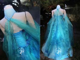 Water Faerie Back View by Firefly-Path
