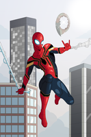 Ininifty War Spider-Man by OwenOak95
