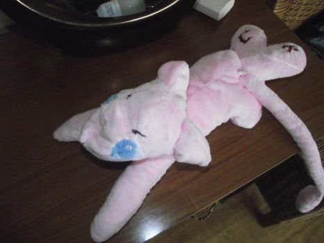 Baby Mew Plushie by EAMS81