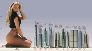 Giantess comparison by eheh78