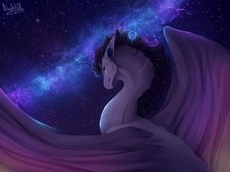 Galactic Explosion by NashiHoly