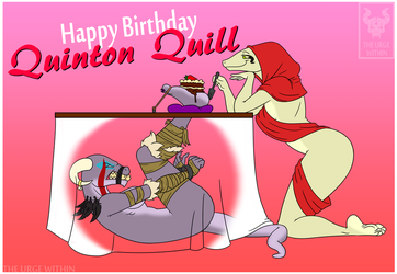 Happy Birthday Quinton Quill 2017 by TheUrgeWithin