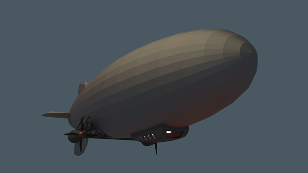 Zeppelin by swedishpancaces