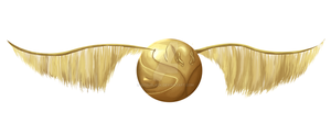 Commissioned Golden Snitch by rigelblack