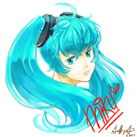 Miku Append by Pluffers