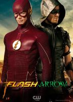 The Flash and Green Arrow CW TV Poster by Timetravel6000v2