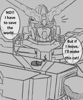 Giant Mecha Problems by W0lfmare