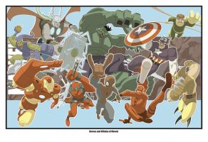 Collected marvel by paco850