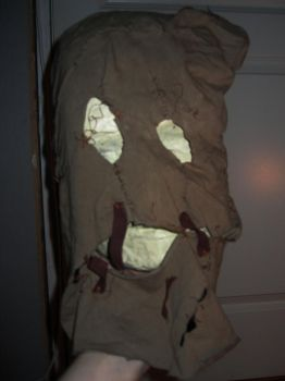 Scarecrow Mask WIP...sorta by christofferlarsson