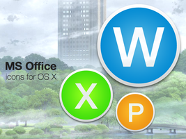 Microsoft Office Icons by ChildrenAreWatching