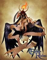 Endless Realms bestiary - Mephistophilus by jocarra