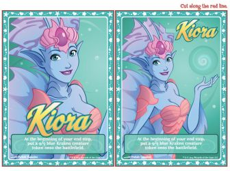 MTG | Koira Emblems and Kraken Tokens | Print File by PolishTamales