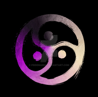 BDSM Triskelion Asexual Ace Demi Pride by PrideMarks