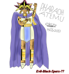Pharaoh Atem by Evil-Black-Sparx-77