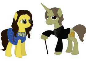 Belle and Mr. Gold (OUAT) by Qemma