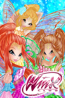 Winx Club: 'Make A Wish- Desiderix!' Poster by TheGuardianFaerie