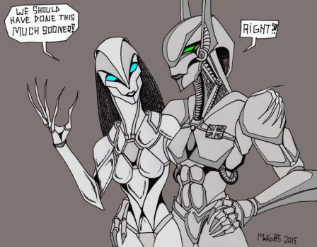 Robot Love by MaKo85