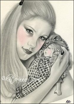 Favourite Dolly by Katerina-Art