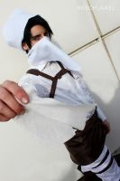 Levi Heichou Rivai : Clean it well ! cosplay by MischAxel