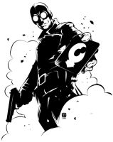 Lobster Johnson by handtoeye