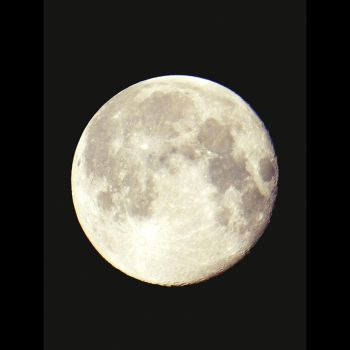Supermoon by mcaksoy
