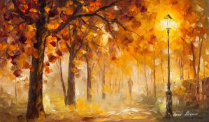Past The Light by Leonid Afremov by Leonidafremov
