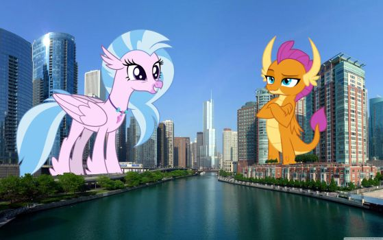 New guys visit Chicago by TheOtterPony