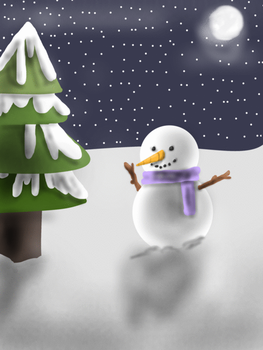 Animated Christmas card by EleanorRaineBow