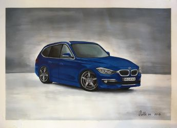BMW f31 by nillemarien
