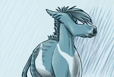 Sketchy halfbody images of Rookan, part 2 by SpitfiresOnIce