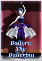 FNAF SL Ballora The Ballerina *updated* by White-Hu