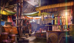 Marrakesh Marketplace by WolfeWOLF