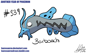 Another year of pokemon: #339 Barboach