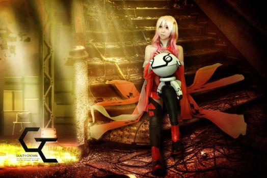 Cosplay - Guilty Crown: Yuzuriha Inori by xDawnburi