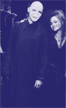 Voldemort and Bellatrix lovely by BloNdeAngel4you