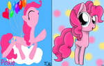 RE: Pinkie Pie redrawn by TrueColors612