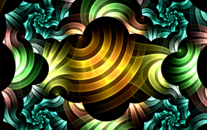 colourful stripe swirls by Andrea1981G