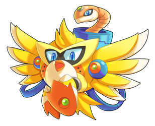 Commission: Chicken Wiggle X Ver. by ultimatemaverickx