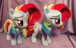 Newbie Dash plush by BubbleButtPlush