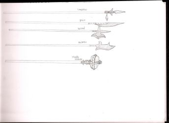 DF weapon sketches 3 by dragonsdale